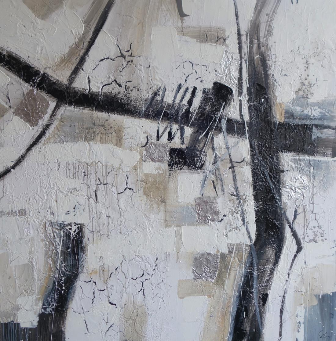 Schilderij abstract 150x150