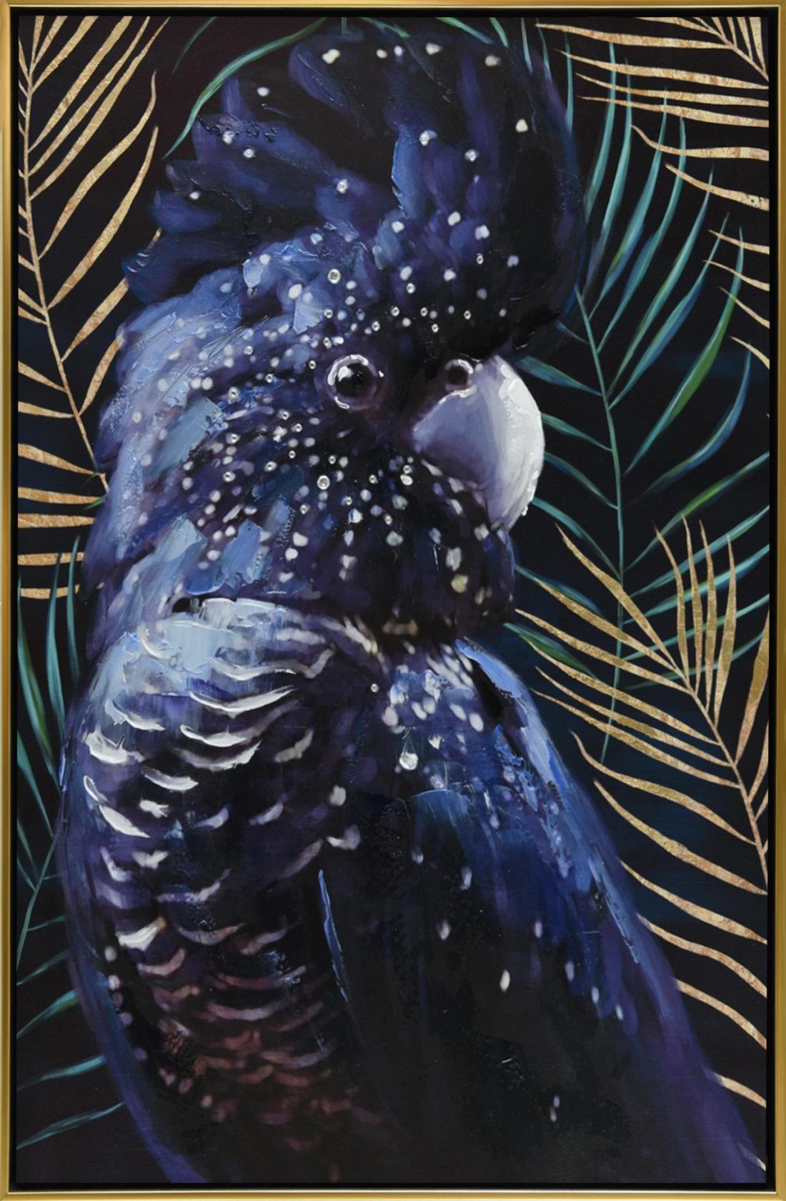Schilderij kaketoe 62x92