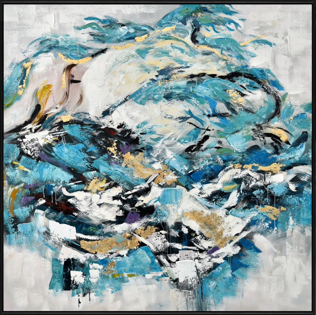 Schilderij abstract 152x152