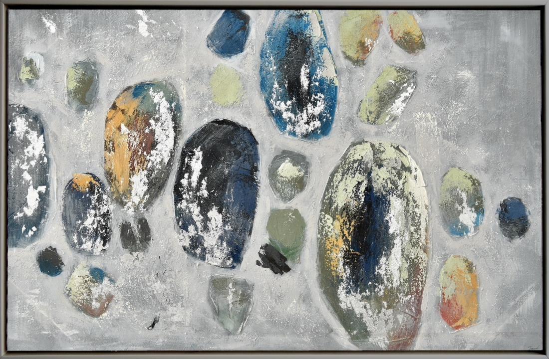 Schilderij abstract 102x152