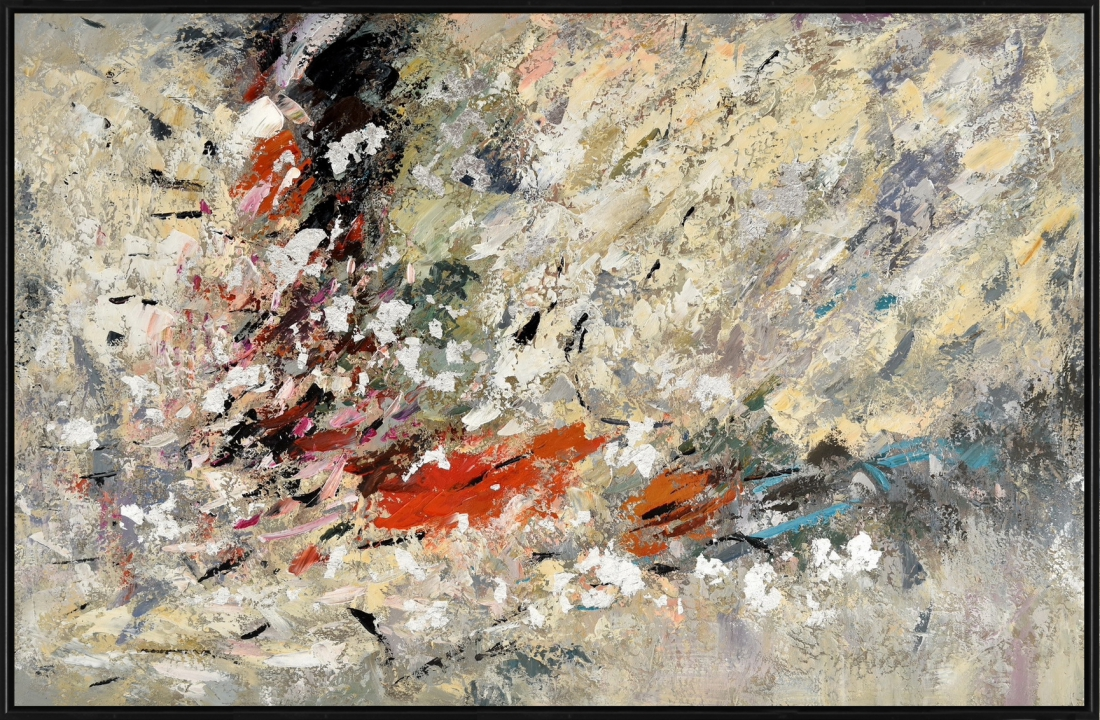 Schilderij abstract 102x152