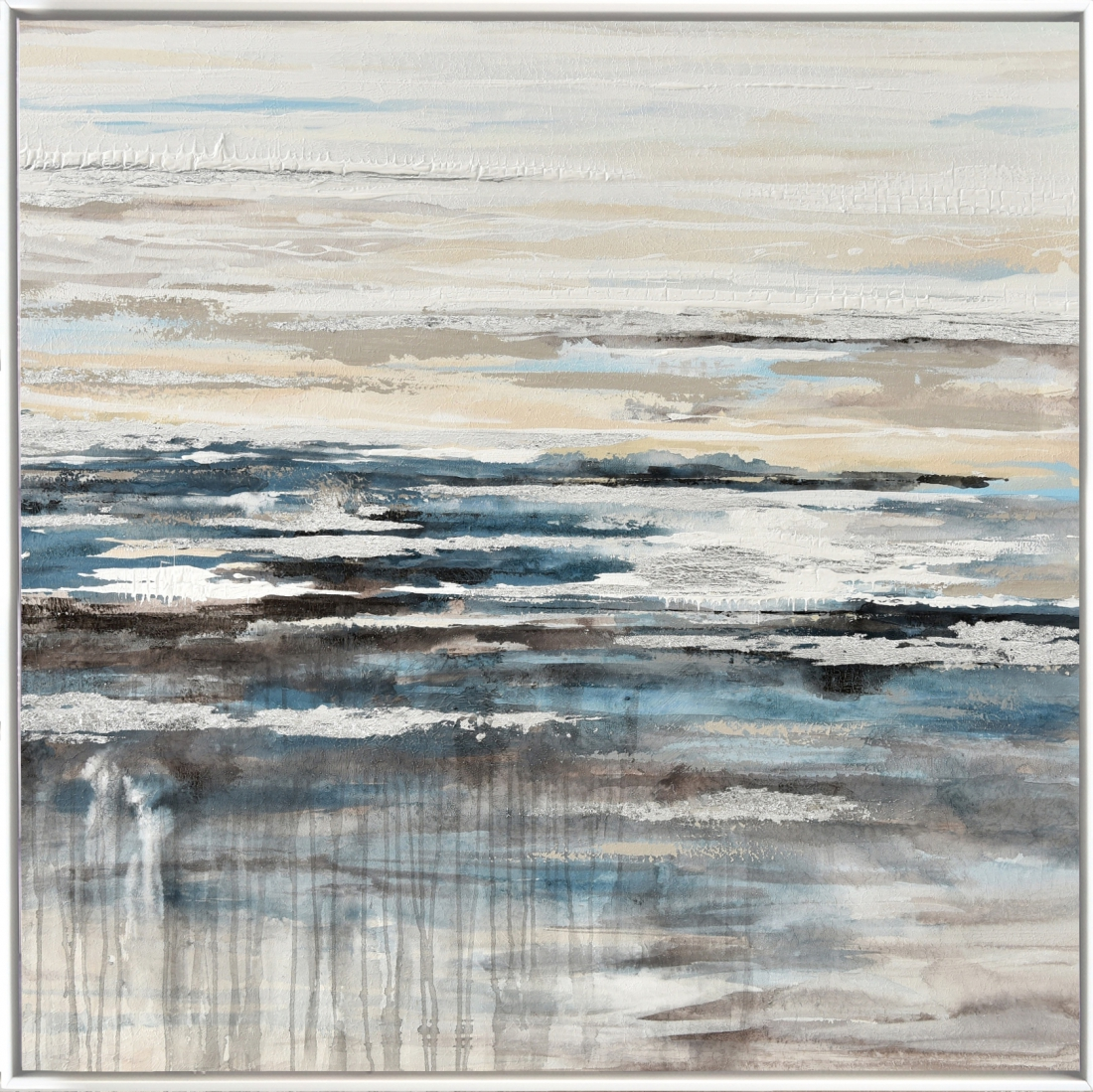 Schilderij abstract 122x122