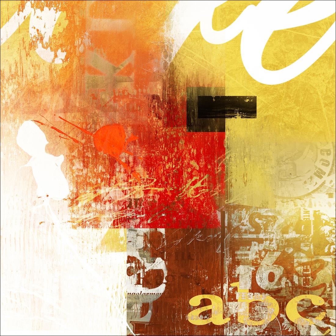 Dibond abstract 100x100