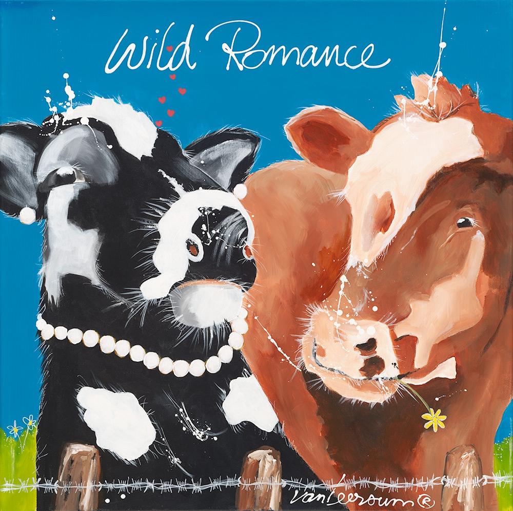 El van Leersum Wild Romance  80x80