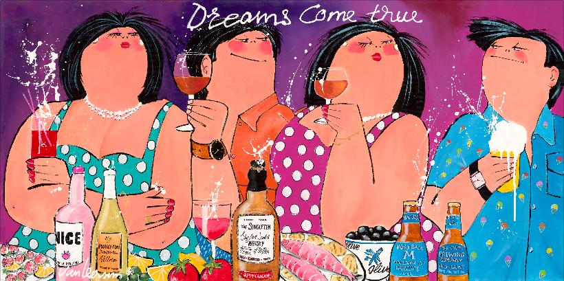 El van Leersum origineel Dreams come true 70x140