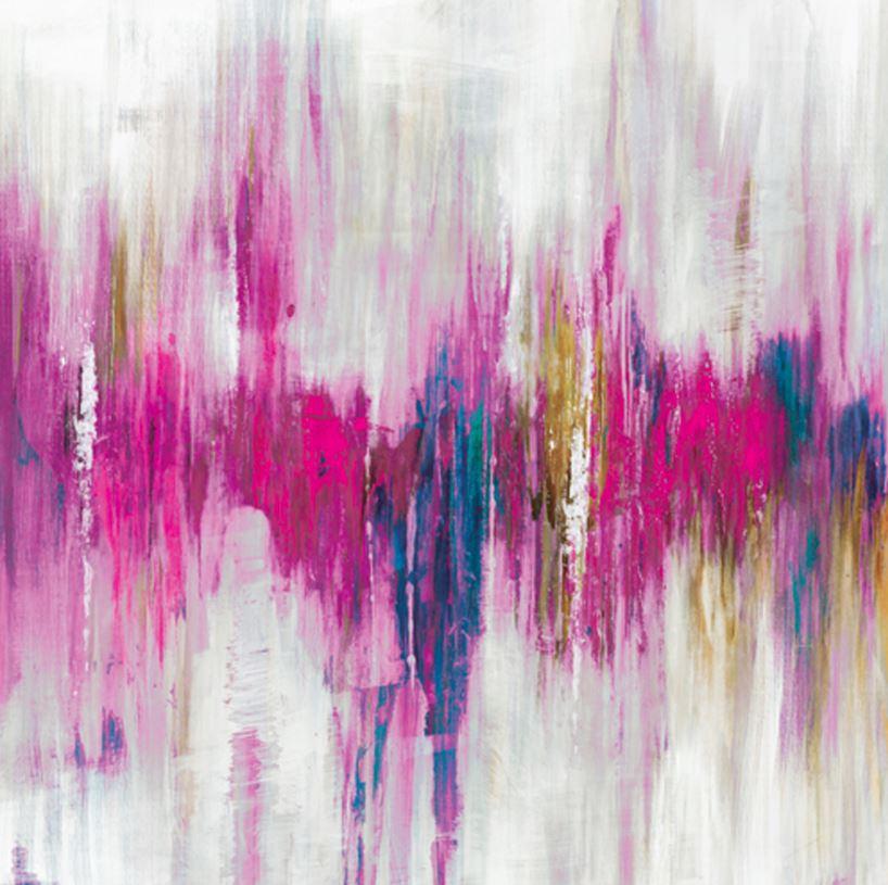 schilderij modern 100x100 Hoogglans