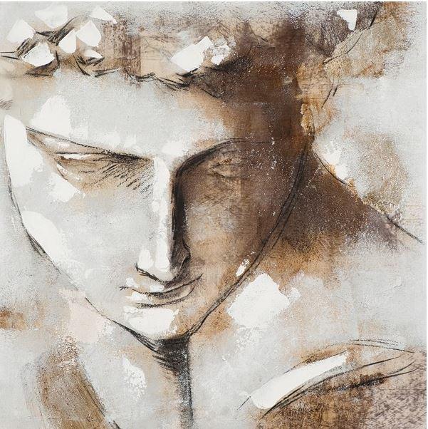 schilderij fresco 100x100