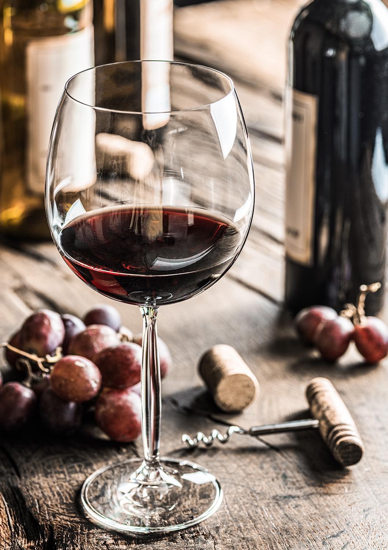 Wine op glas 70x100