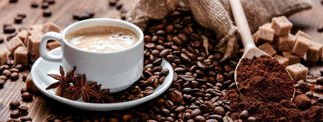 Koffietafel op glas 30x80