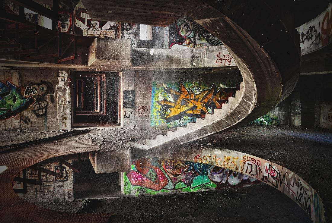 Graffiti op glas 80x120