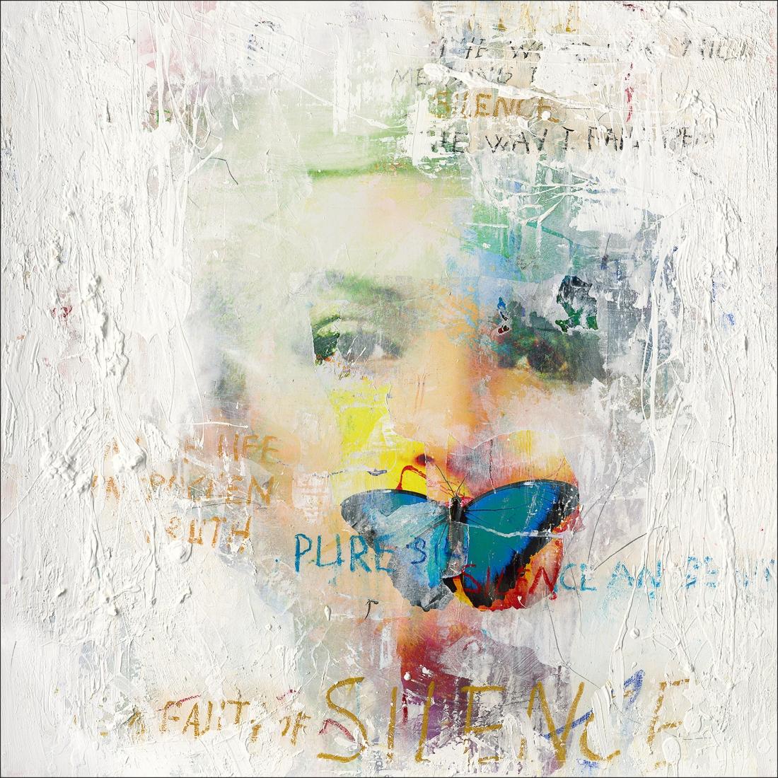 Schilderij Vrouw 100x100