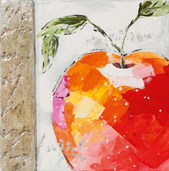 schilderij fruit 25x25