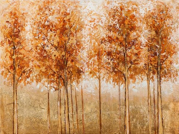 Schilderij 90x120 bomen