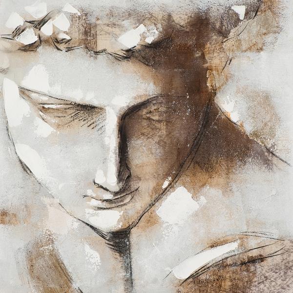 schilderij fresco 70x70