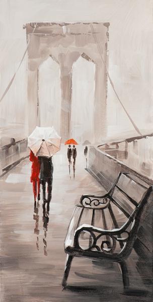 Schilderij bridge 30x60