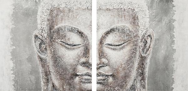 Boeddha set totaal 100x200