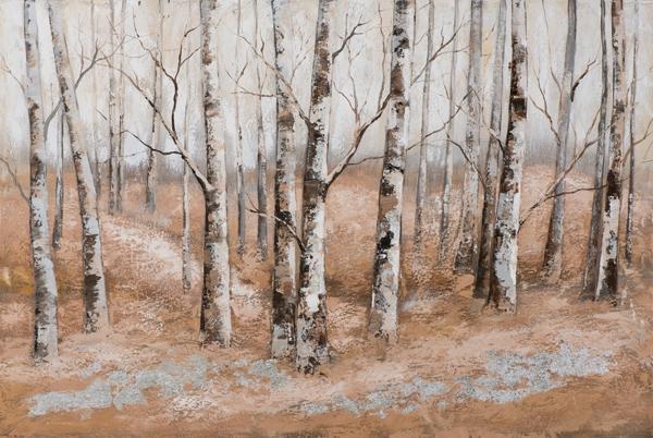 schilderij bos 80x120