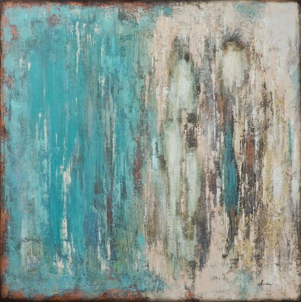 Schilderij modern 100x100