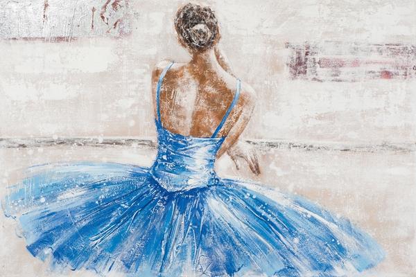 schilderij ballerina 80x120