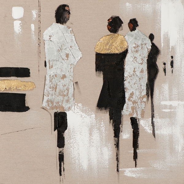 schilderij figuratief 40x40