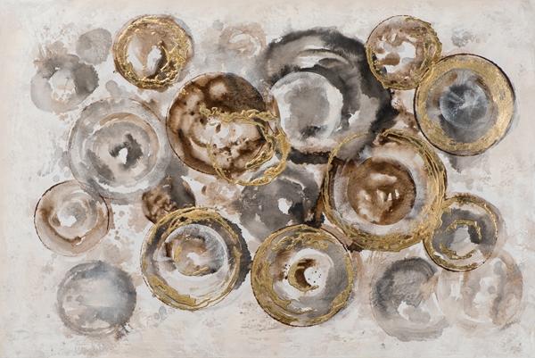 Schilderij abstract 80x120