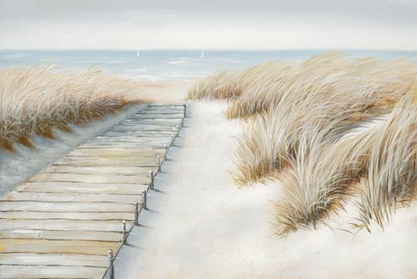 schilderij strand 80x120