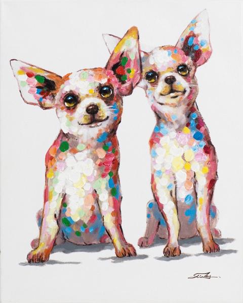 Schilderij chihuahua 40x50