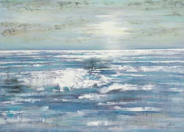 landschap abstract 100x140
