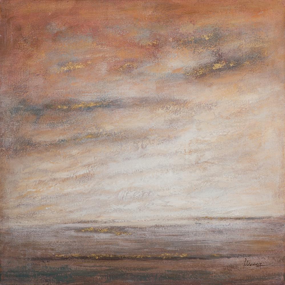 Schilderij horizon 100x100