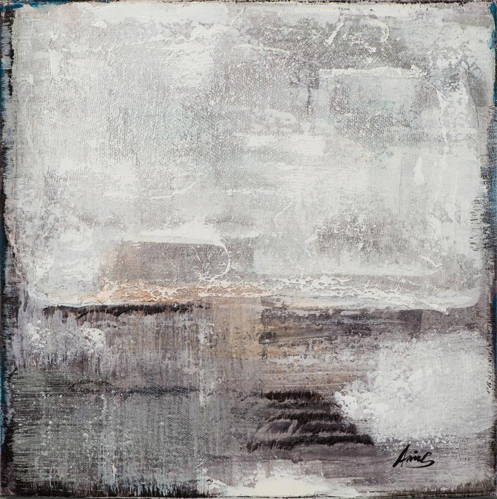 Schilderij abstract 40x40