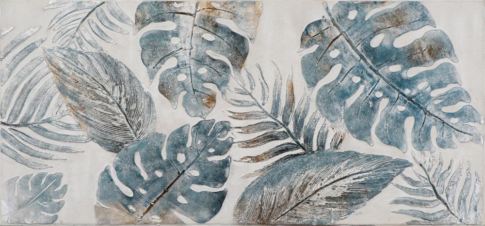 Schilderij botanisch 70x150