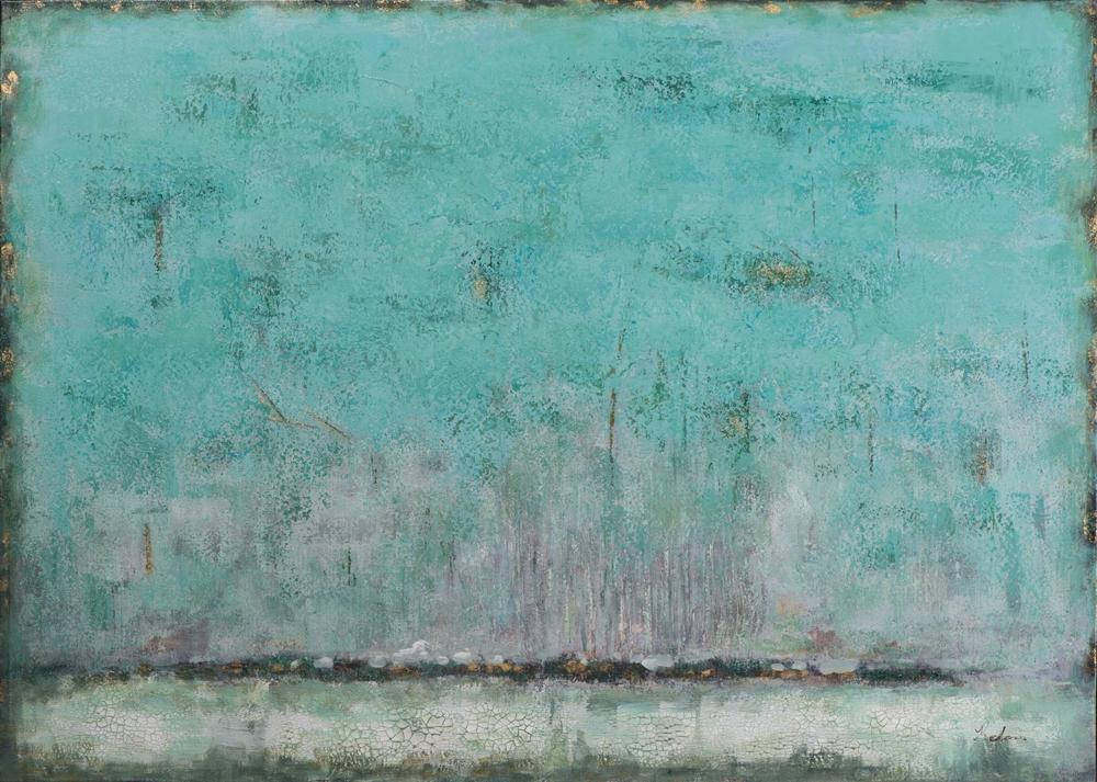 Schilderij abstract 100x140