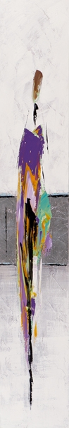 Schilderij figuratief 15x90