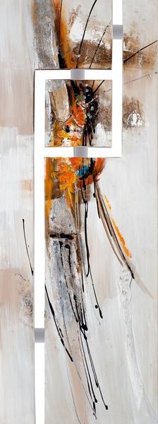Schilderij modern 45x120