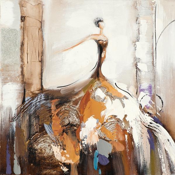 Schilderij Vrouw 25x25