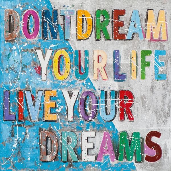 schilderij Dreams 70x70