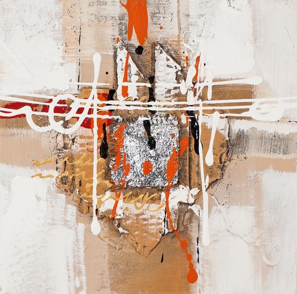 Schilderij modern 25x25