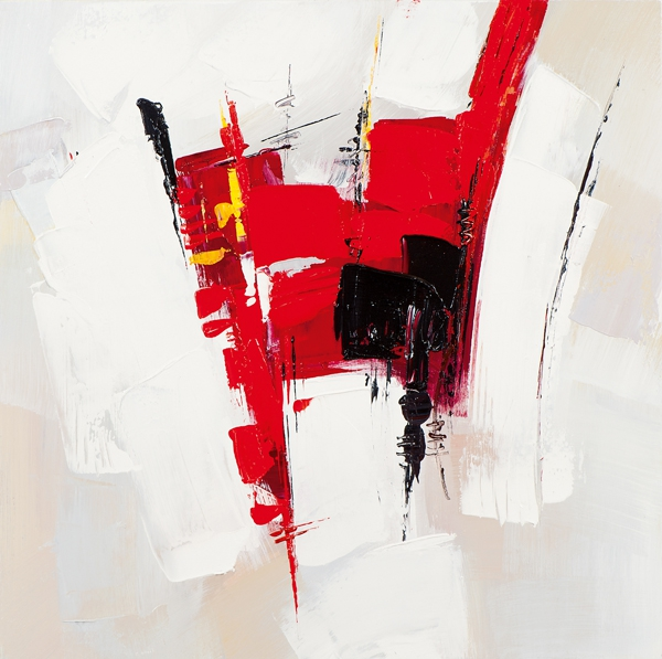 ilxe705 - Schilderij 60x60 Abstract