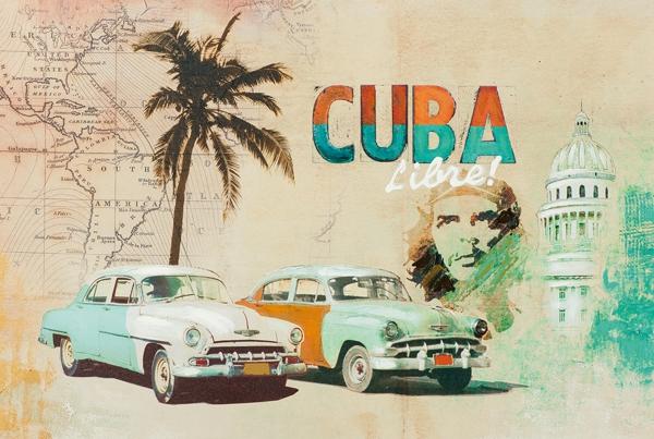 Schilderij Cuba 60x90