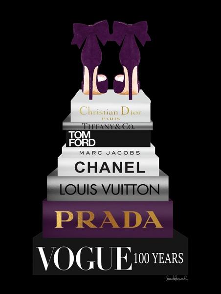 Fotokunst Chanel op glas 60x80