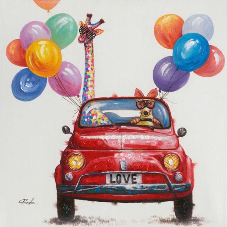 schilderij Fiat 70x70