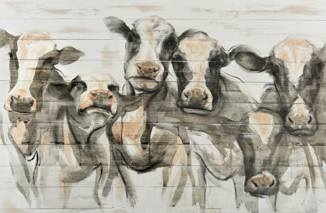 Schilderij koeien 80x120