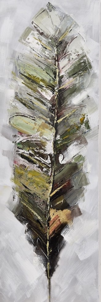 Schilderij veer 50x150