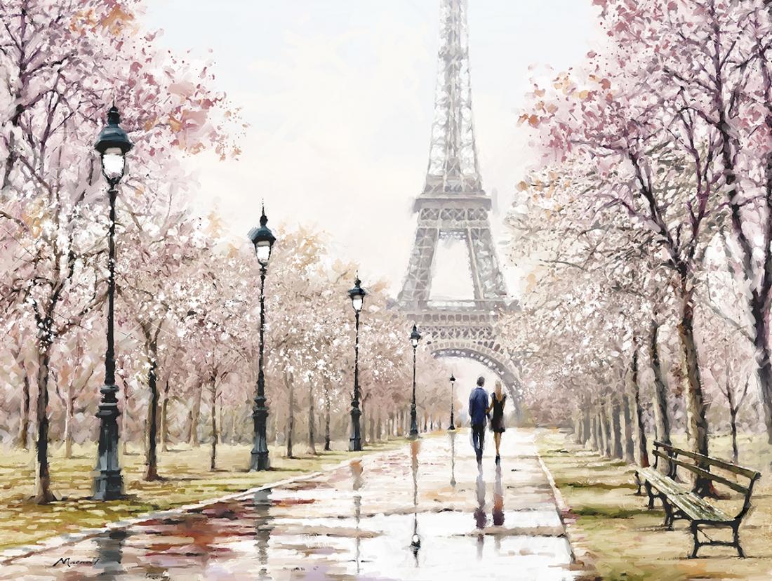 Parijs Eiffeltoren 75x100