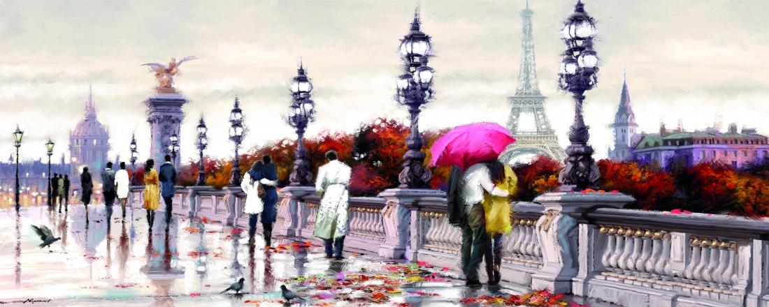 Boulevard Parijs 60x150