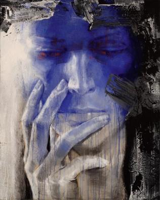 Schilderij 80x100 Thinking