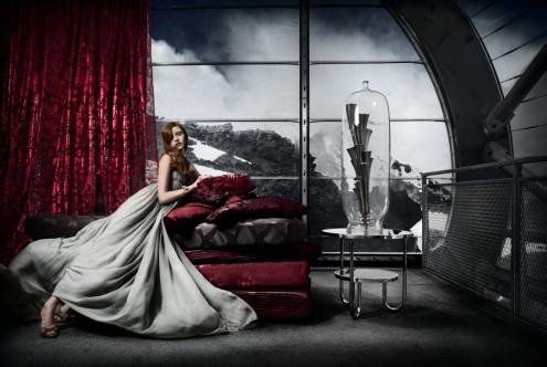 Schilderij Woman 95x140