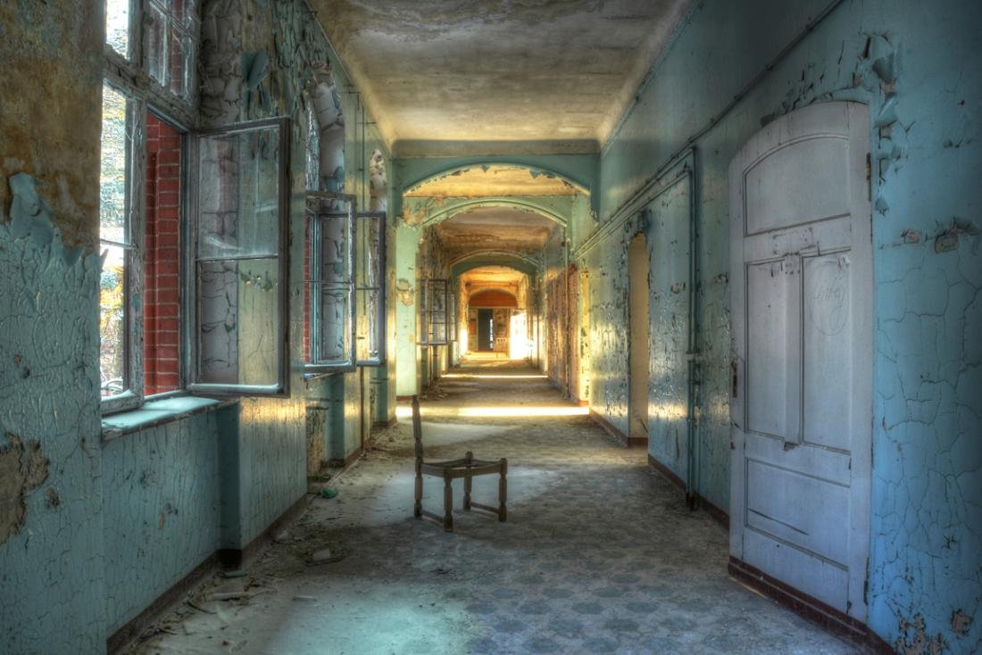 fotokunst Corridor 75x100