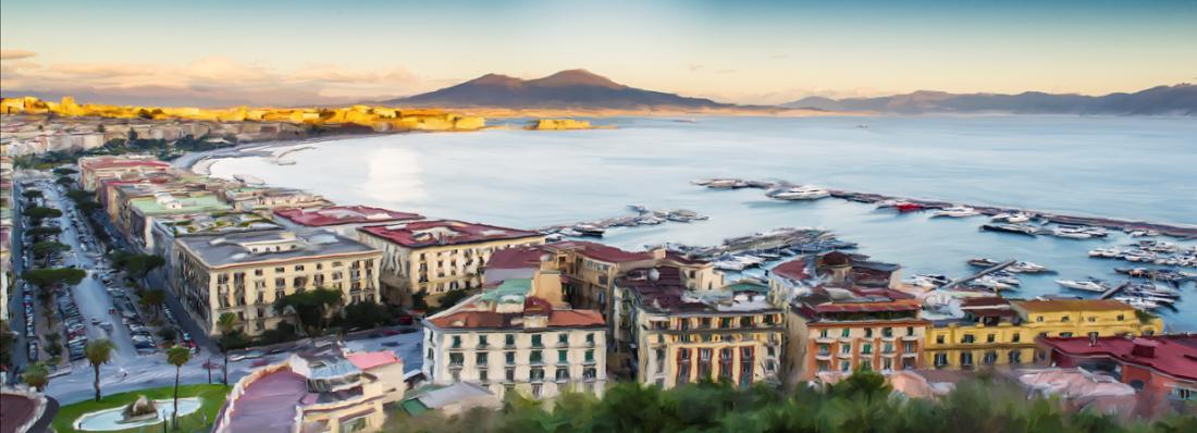 Fotokunst Napoli 60x150