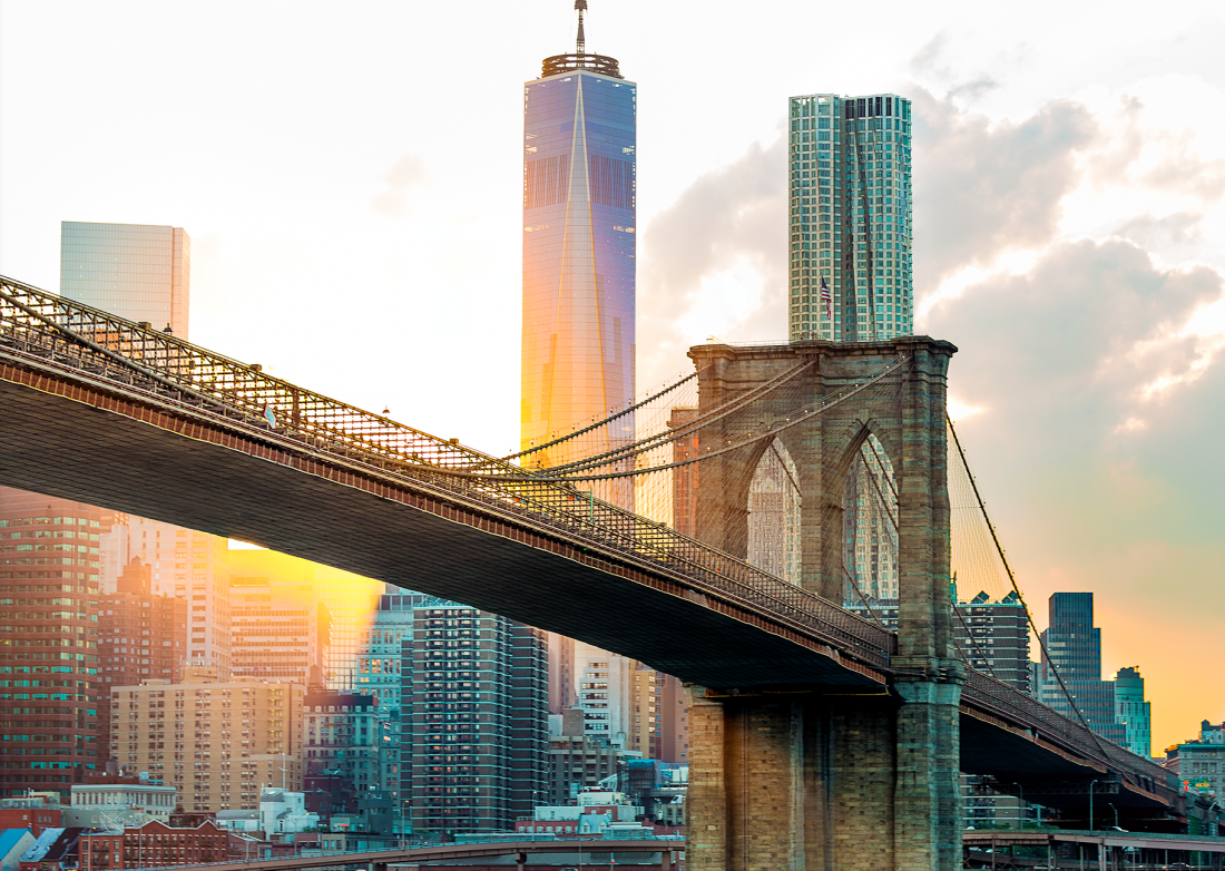 fotokunst Brooklyn Bridge 75x100